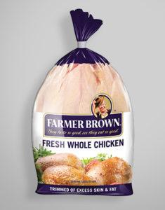 Farmer Brown Fresh Whole Chicken