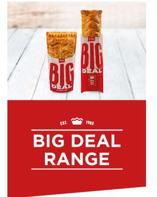 Pieman's Big Deal Range