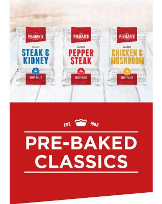 Pieman's Pre Baked Classics