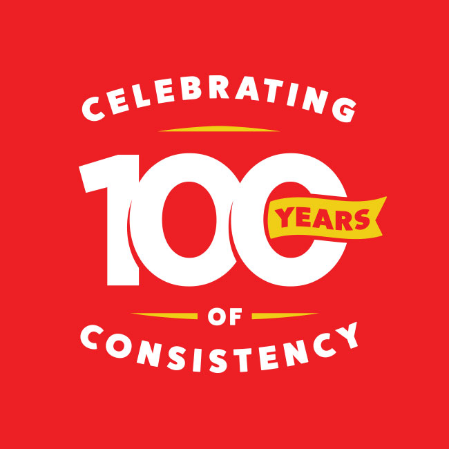 100 years of consistency