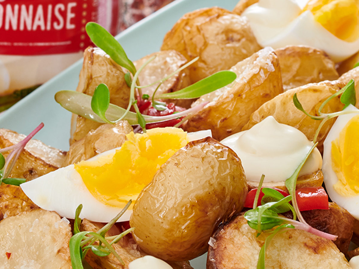 Sindi's Roasted Potato and Egg Salad