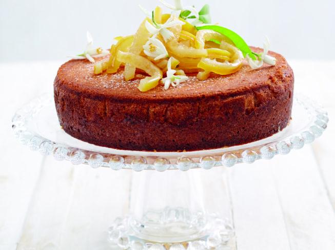 Moist Lemon Sponge Cake
