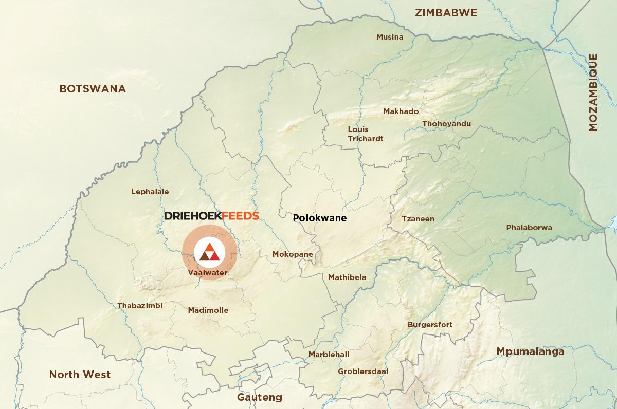 Driehoek map
