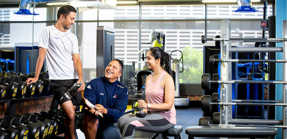 Employees at RCL FOODS Gym