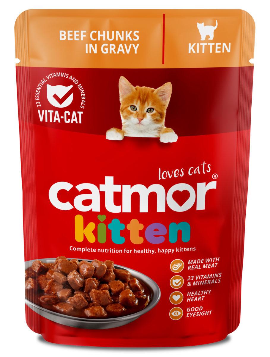 Beef Chunks in Gravy (kitten)