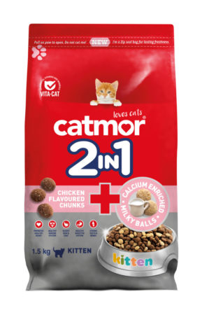 2in1 Chicken Chunks & Calcium Milky Balls (kitten)