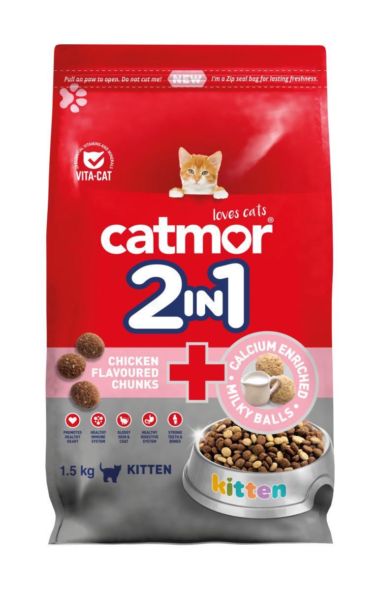 2in1 Chicken Chunks & Calcium Milky Balls (kitten)