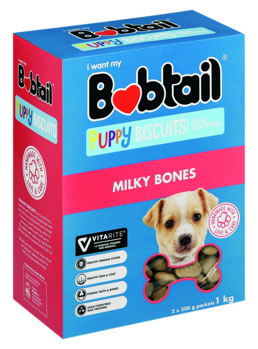 Bobtail Puppy biscuits