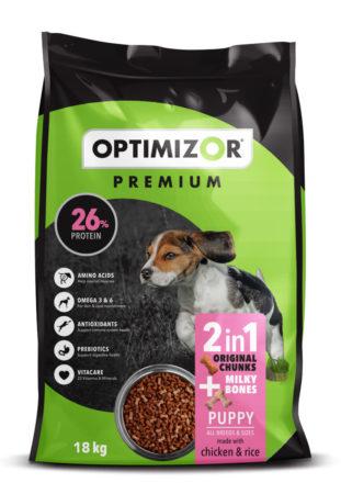 Premium Puppy Chunks & Milky Bones