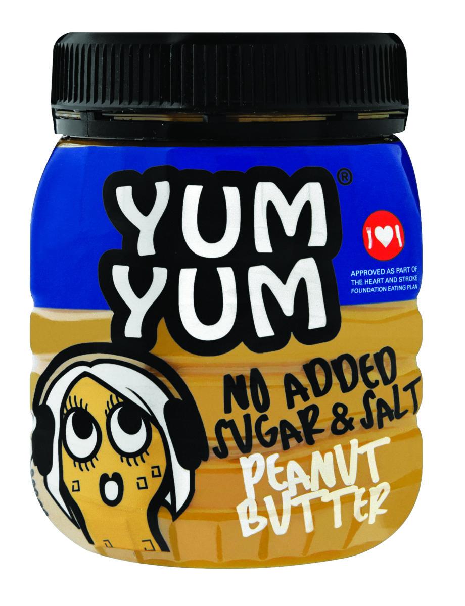 Yum Yum No Added Sugar & Salt Peanut Butter