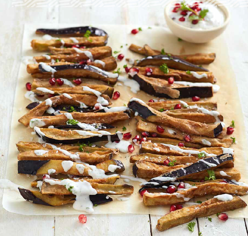 Aubergine Fries