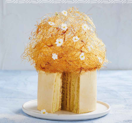 caramel coma cake