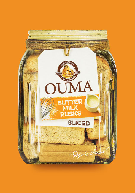 Ouma butter milk rusks