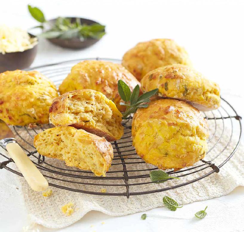 butternut and boerenkaas scones