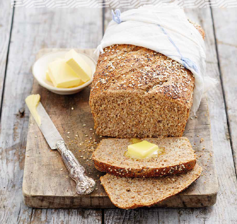 seeded health bread