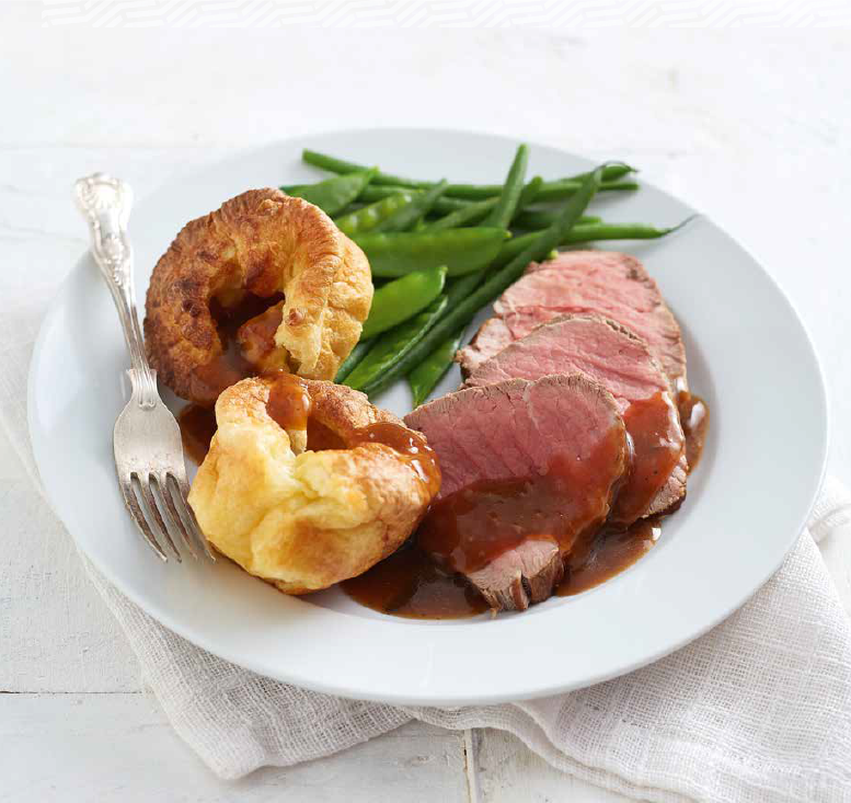 roast beef & yorkshire puds