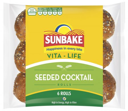 Sunbake seeded cocktail rolls