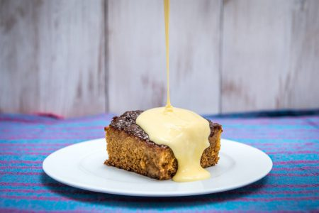 Peanut Butter Malva Pudding