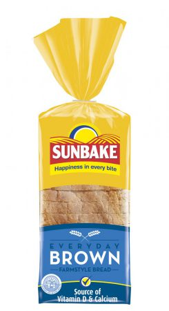 Sunbake farmstyle brown bread