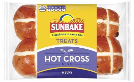 Sunbake hot cross buns