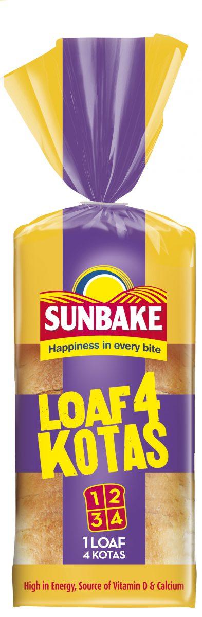 Sunbake loaf for kota