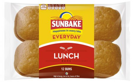 Sunbake lunch buns