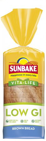 Sunbake LOW GI brown bread