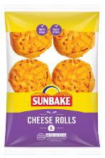 Sunbake cheese rolls