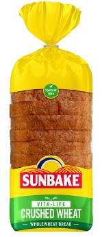 Sunbake crushed wheat bread