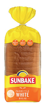 Sunbake farmstyle white bread