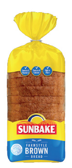 Sunbake farmstyle brown bread