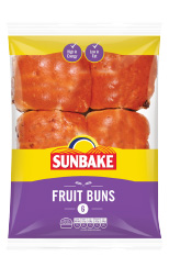 Sunbake fruit buns
