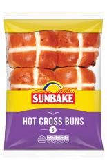 Sunbake hot cross buns