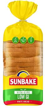 Sunbake LOW GI white bread