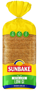 Sunbake LOW GI brown bread