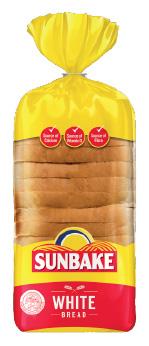 Sunbake white bread