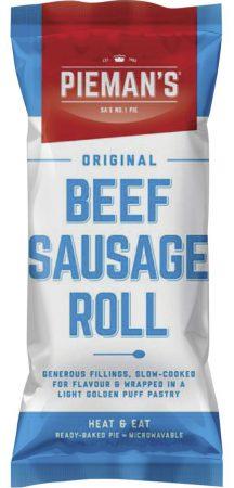 Pieman's Beef Sausage roll