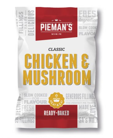 Pieman's Chicken and mushroom