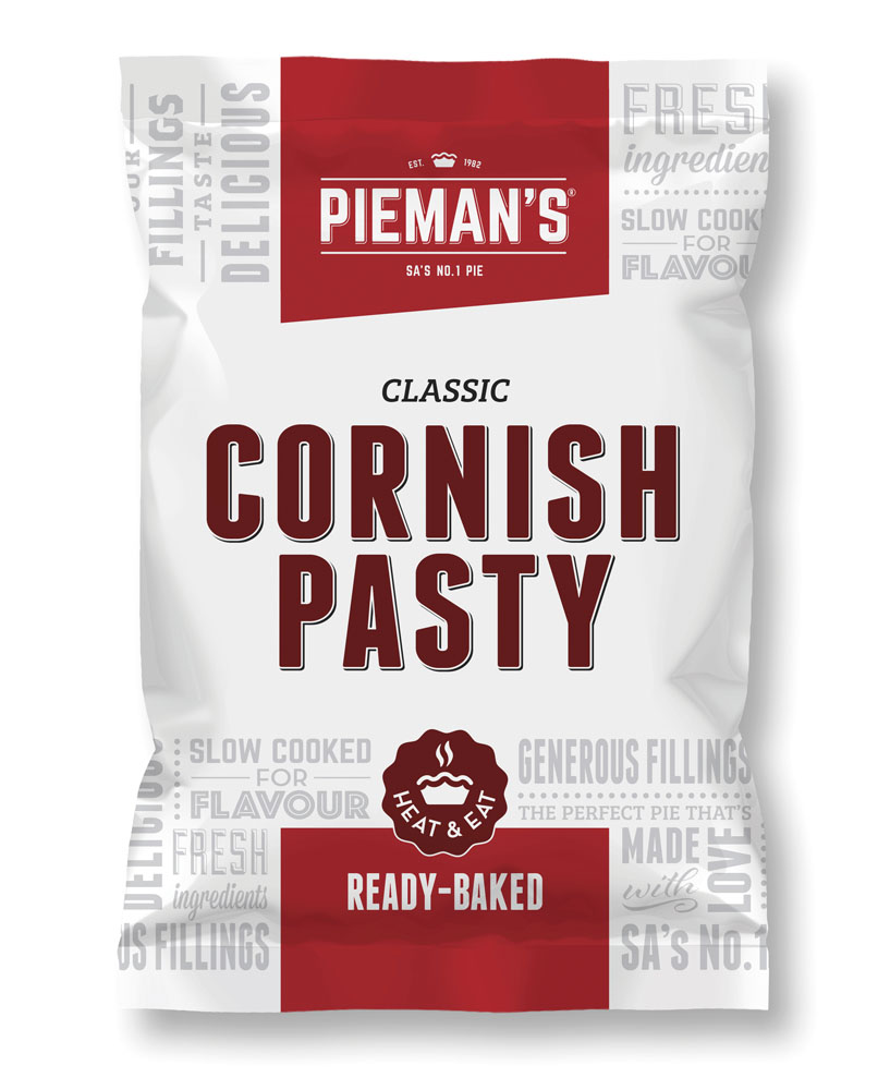 Pieman's Cornish pasty