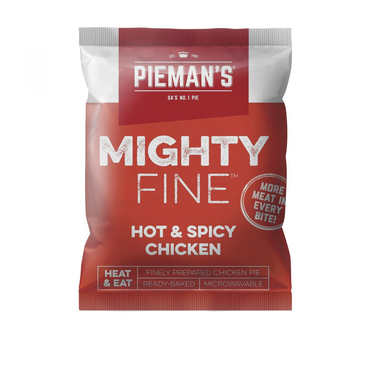 Pieman's Mighty Fine hot and spicy