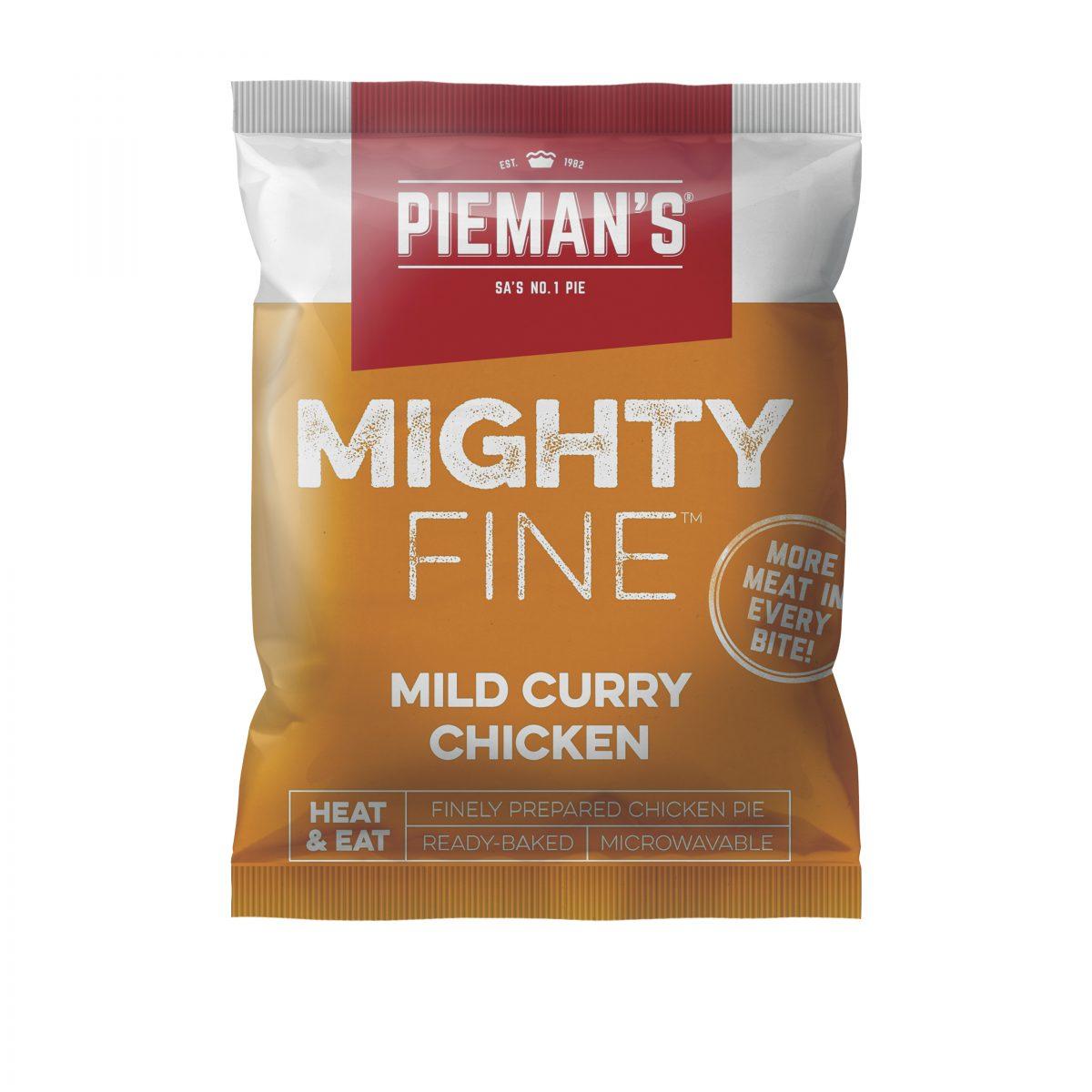 Pieman's Mighty Fine mild curry
