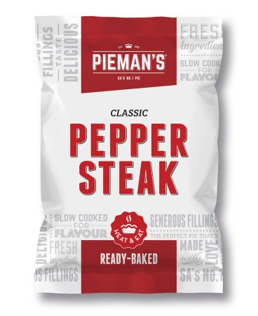 Pieman's Pepper steak