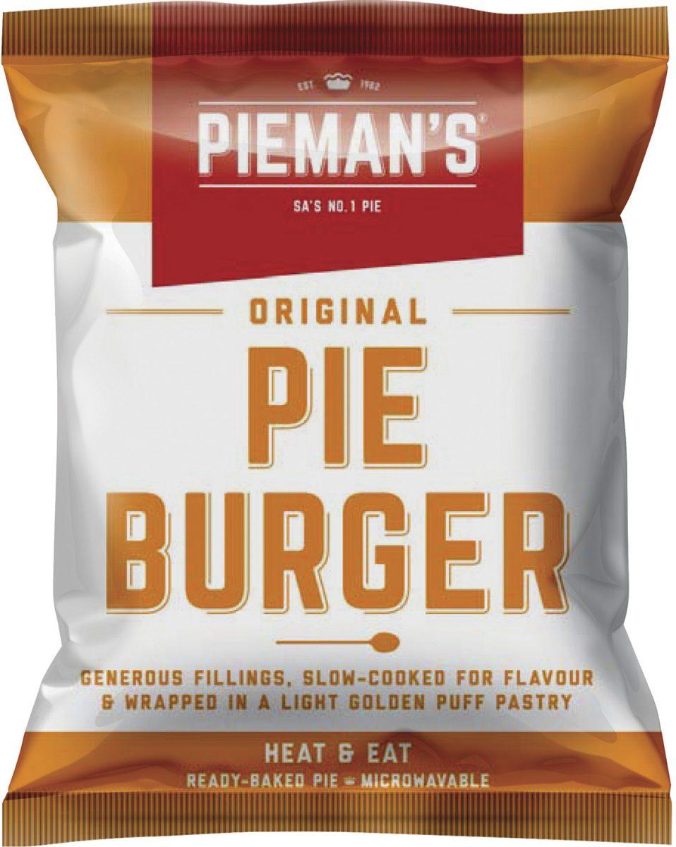 Pieman's Pie burger
