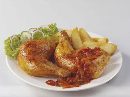 Ready 2 Go Fully Cooked Chicken Leg Quarter 180g- 210g