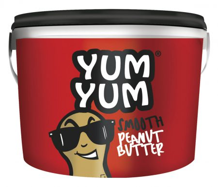Yum Yum peanut butter smooth 2.75kg tub