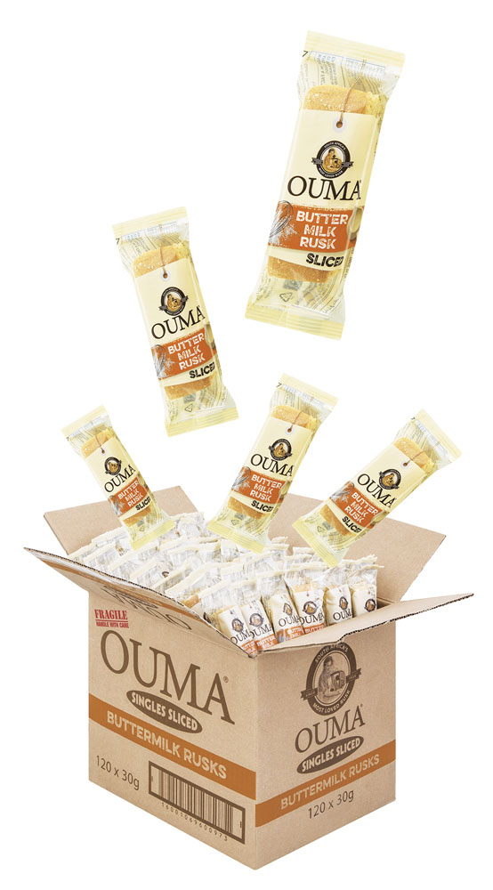 Ouma Single Sliced Buttermilk rusks
