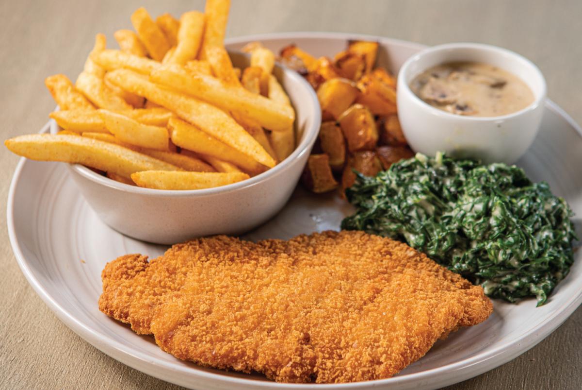 simply chicken schnitzel