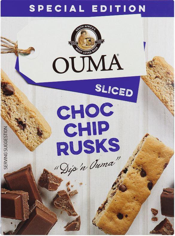 Choco chip rusks 98