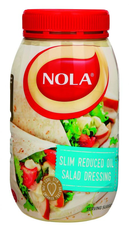 Nola slim reduced oil salad dressing