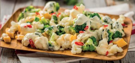 Mel's Cauliflower and Broccoli Salad